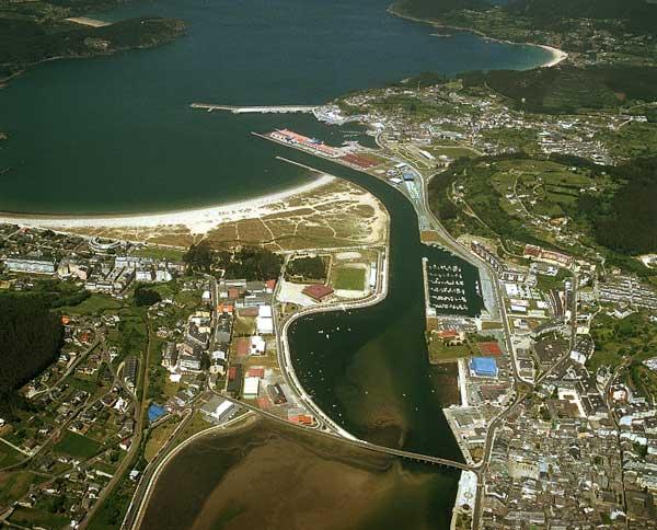 Vista general de la r a y puerto de viveiro viveiro - Fotos de viveiro lugo ...