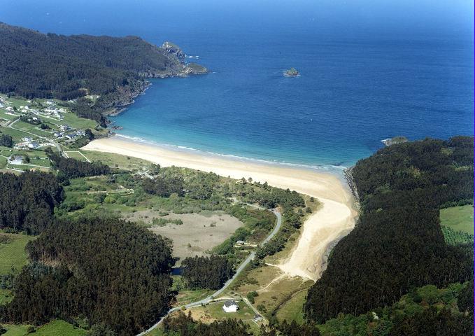 Praia de abrela suegos praia de abrela o vicedo for Oficina turismo galicia
