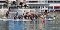 El Club Piragüismo Triana, tres bronces en el II Festival Intercontinental de Dragon Boat