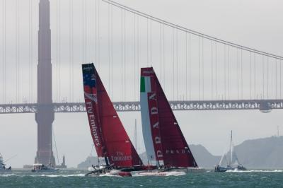 El Oracle Team USA Spithill gana la segunda America's Cup World Series San Francisco consecutiva