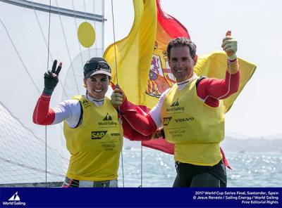 Tara Pacheco, nominada a mejor regatista del mundo 2017 por la World Sailing