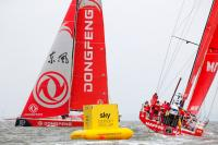 Dongfeng Race Team se lleva la victoria en la Sky Ocean Rescue In-Port Race y MAPFRE sigue líder en la general de las costeras