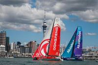 Dongfeng se lleva una complicada New Zealand Herald In Port Race