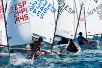 Nacho Dávila sigue al grente de la OPTIMIST EXCELLENCE CUP